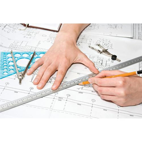 701820 | Linex Ruler Stainless Steel Imperial and Metric with Conversion Table 150mm Silver Ref LXESL15 | Rulers