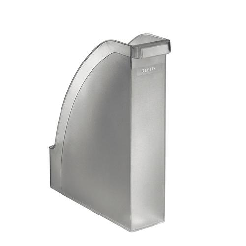 Leitz Magazine File Plus 70mm Int Capacity Fits A4 W78xD278xH300mm Clear Ref 24760003