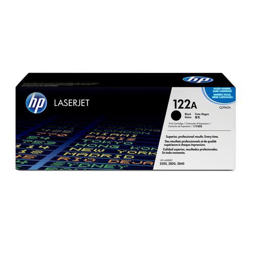 Hewlett Packard [HP] No. 122A Laser Toner Cartridge Page Life 5000pp Black Ref Q3960A