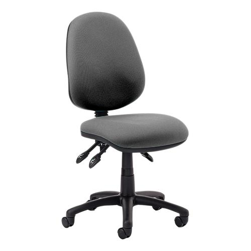 TrexusP 3 Lever High Back Asynchronous Chair Charcoal 500x450x450-570mm Ref OP000085