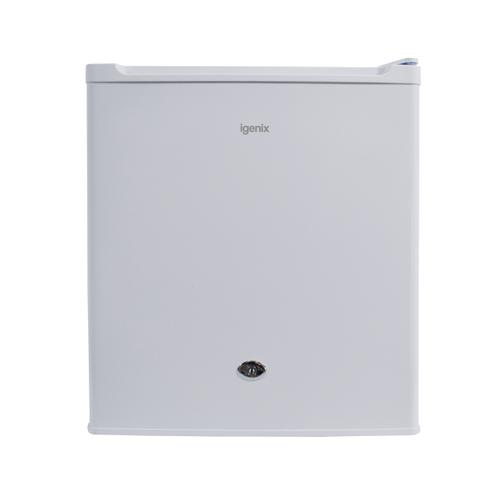 Igenix Compact Counter Top Fridge with Lock & Ice Compartment A+ Rated 60W 47 Litre 14kg White Ref IG3711