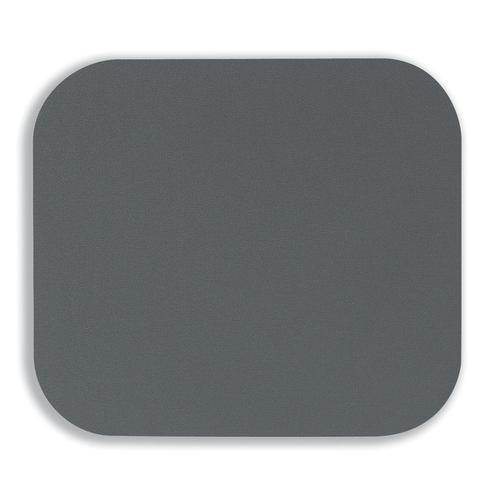 Fellowes Mousepad Solid Colour Grey Ref 58023-06