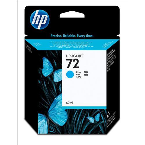 Hewlett Packard [HP] No.72 Inkjet Cartridge 69ml Cyan Ref C9398A