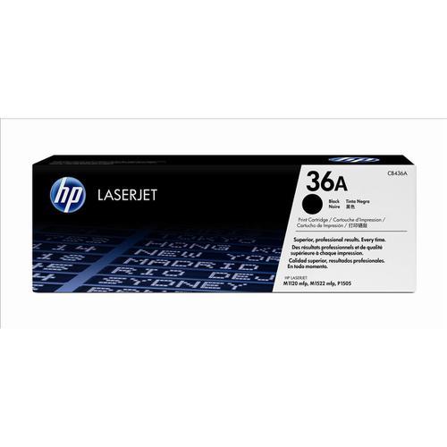 HP 36A Laser Toner Cartridge Page Life 2000pp Black Ref CB436A