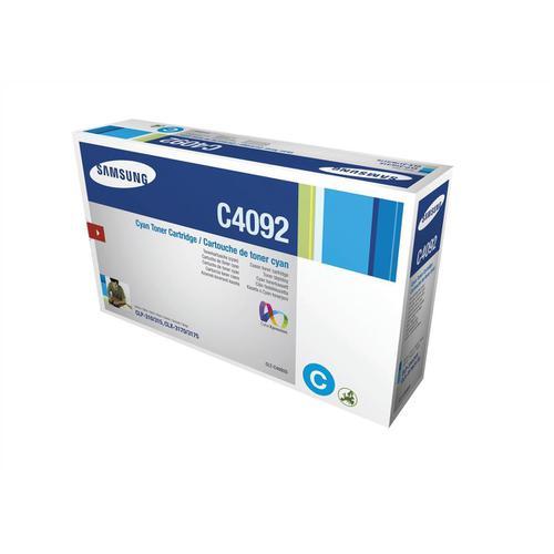 Samsung Laser Toner Cartridge Page Life 1000pp Cyan Ref CLT-C4092S/ELS