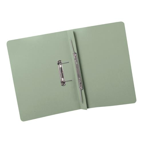 5 Star Elite Transfer Spring File Super Heavyweight 420gsm Capacity 38mm Foolscap Green [Pack 25]