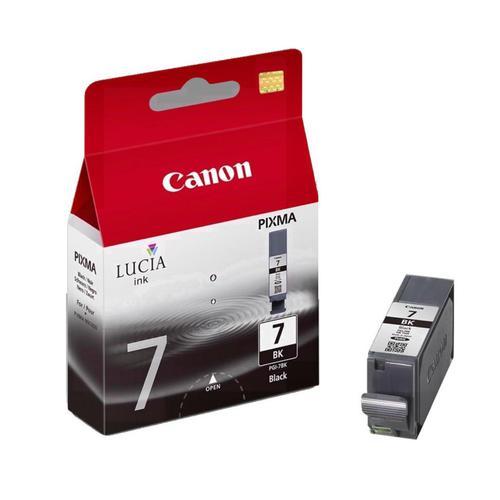 Canon PGI-7 Inkjet Cartridge Black Page Life 565pp 25ml Ref 2444B001
