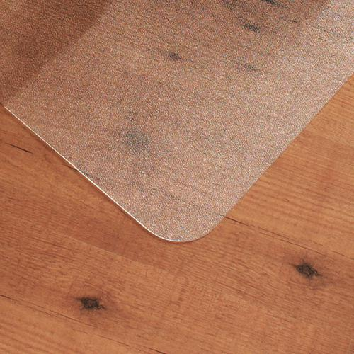 Cleartex Ultimat Chair Mat Rectangular Anti-slip for Polished Floors 1190x890mm Clear Ref FC128920ERA