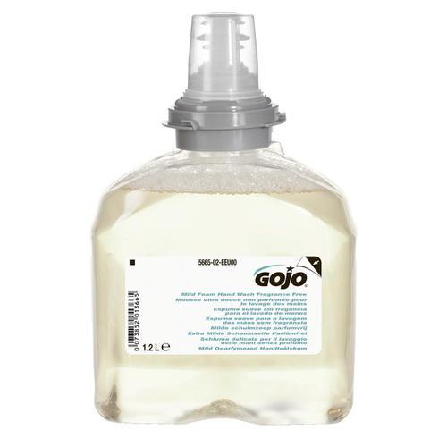 Gojo Foam Soap Hand Wash Refill Antibacterial for TFX Dispenser 1200ml Ref N06249 [Pack 2]
