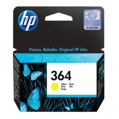 Hewlett Packard [HP]No.364 Inkjet Cartridge Page Life 300pp 3ml Yellow Ref CB320EE