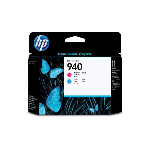 Hewlett Packard [HP] No.940 Inkjet Printhead Cyan and Magenta Ref C4901A