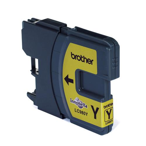 Brother Inkjet Cartridge Page Life 260pp Yellow Ref LC980Y