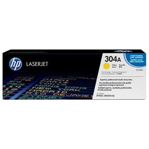 HP 304A Laser Toner Cartridge Page Life 2800pp Yellow Ref CC532A