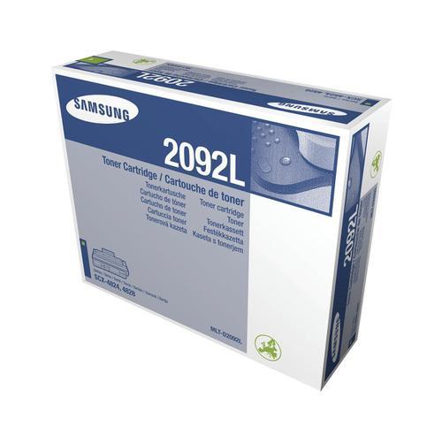 Samsung MLT-D2092L Laser Toner Cartridge High Yield Page Life 5000pp Black Ref SV003A