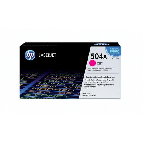 HP 504A Laser Toner Cartridge Page Life 7000pp Magenta Ref CE253A