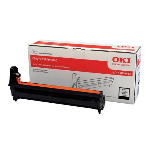 OKI Laser Drum Unit Page Life 20000pp Black Ref 44064012