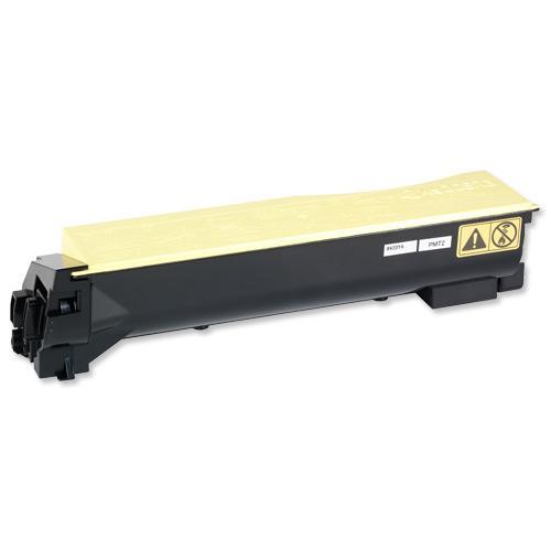 Kyocera TK-540Y Laser Toner Cartridge Page Life 4000pp Yellow Ref 1T02HLAEU0