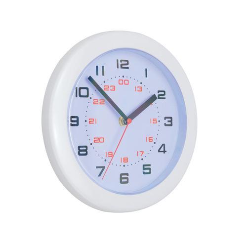 5 Star Facilities Controller Wall Clock Diameter 250mm White