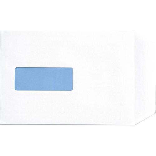 5 Star Office Envelopes PEFC Pocket Peel & Seal Window 100gsm C5 229x162mm White [Pack 500]