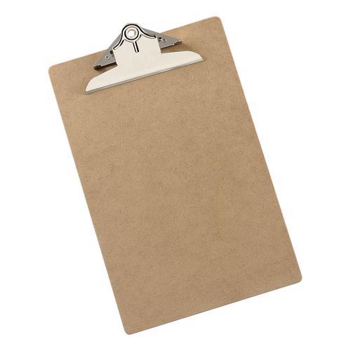 5 Star Office Clipboard Rigid Hardboard Foolscap