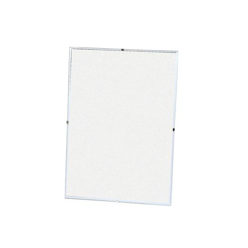 5 Star Office Clip Frame Plastic Front for Wall-mounting Back-loading A2 594x420mm Clear
