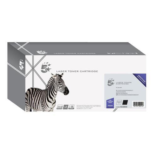 5 Star Office Remanufactured Laser Toner Cartridge Page Life 3000pp Black [Brother TN3230 Alternative]