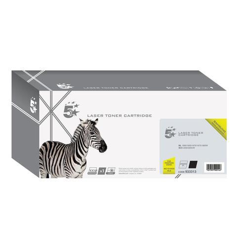 5 Star Office Reman Laser Toner Cartridge Page Life 1500pp Black [Samsung MLT-D1042S SU737A Alternative]