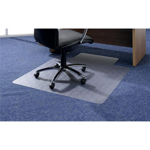 5 Star Office Chair Mat For Hard Floors Polycarbonate Chair Mat Lipped 890x1190mm Clear - 935407