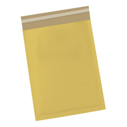 5 Star Office Bubble Lined Bags Peel & Seal No.4 240 x 320mm Gold [Pack 50]