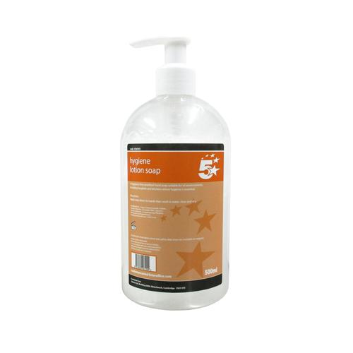 5 Star Facilities Hygiene Lotion Soap 500ml