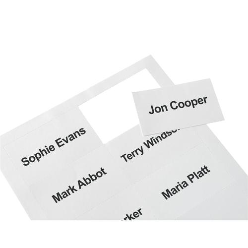 5 Star Office Badge Inserts 54x90mm 20 Sheets of 10 [200 Inserts]