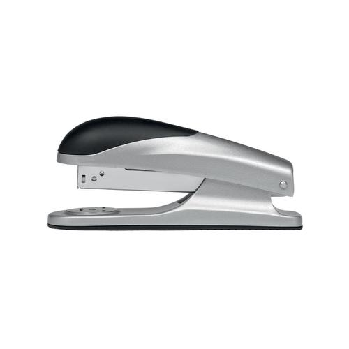 5 Star Elite Stapler Half Strip Capacity 20 Sheets Silver