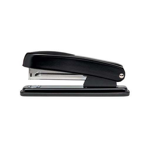 5 Star Office Metal Half Strip Stapler Soft Grip 20 Sheet Capacity Takes 26/6 Staples Black