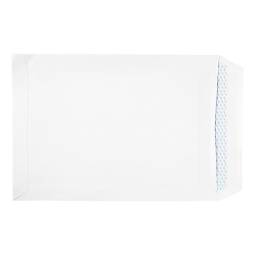 5 Star Eco Envelopes Recycled Pocket Self Seal 100gsm C4 324x229mm White [Pack 250]