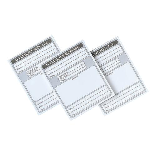 5 Star Office Telephone Message Pad 160pp 127x102mm [Pack 10]