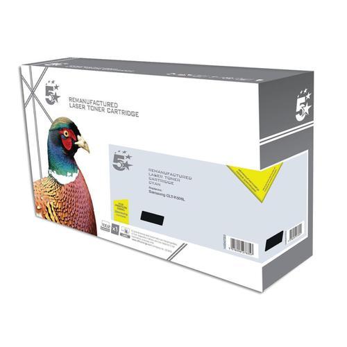 5 Star Office Reman LaserTonerCart HighYield PageLife 6000pp Black [Samsung CLT-K506L SU171A Alternative]