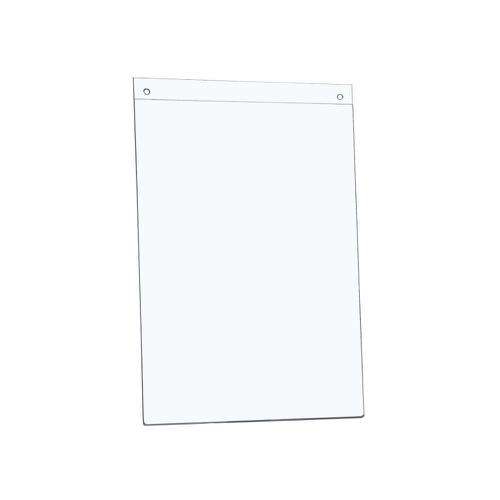 5 Star Office Sign Holder Wall Display Portrait A4 Clear