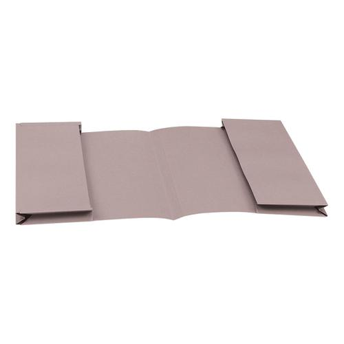 5 Star Eco Double Pocket Wallet 285gsm Foolscap Recycled Buff [Pack 25]
