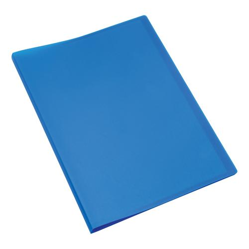 5 Star Office Display Book Soft Cover Lightweight Polypropylene 10 Pockets A4 Blue