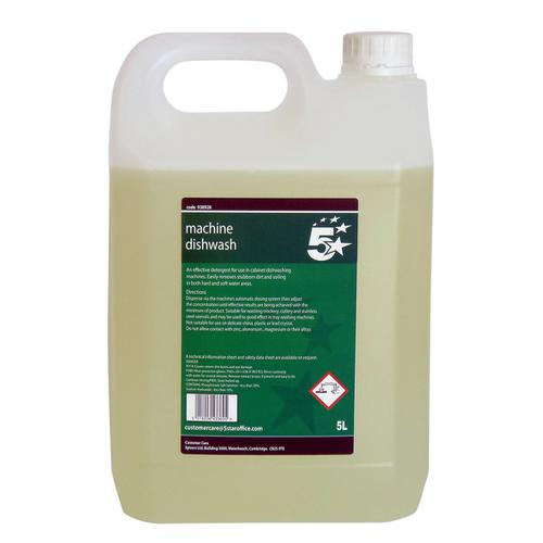 5 Star Facilities Machine Dishwash Liquid Detergent 5 Litres