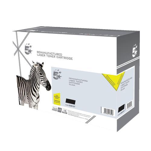 5 Star Office Remanufactured LaserTonerCart Page Life 5000pp Black [Samsung MLT-D203L SU897A Alternative]