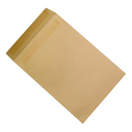 5 Star Office Envelopes Recycled 457x324mm Pocket Self Seal 115gsm Manilla [Pack 125]