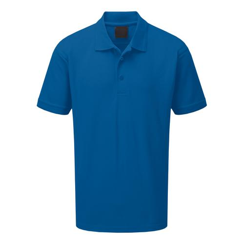 Click Workwear Polo Shirt Polycotton 200gsm Small Royal Blue Ref CLPKSRS *Approx 3 Day Leadtime*