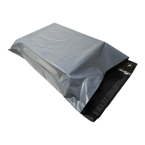 5 Star Recycled Mailing Bag Peel & Seal Closure Grey 450x595mm [Pack 100]