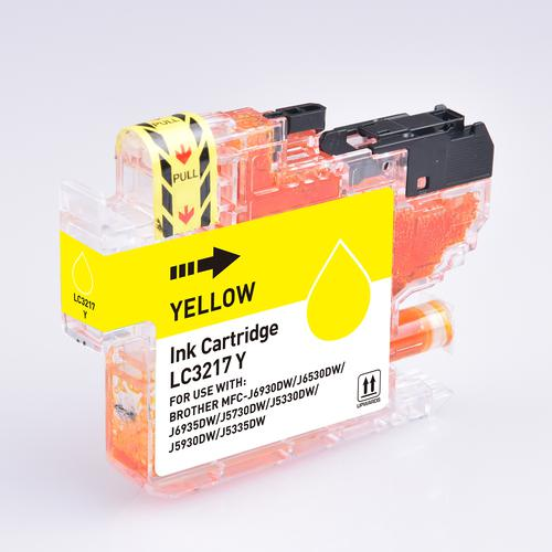 5 Star Value Remanufactured Inkjet Cartridge Page Life 550pp Yellow [Brother LC3217Y Alternative]