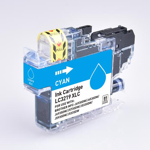 5 Star Value Remanufactured Inkjet Cartridge Page Life 1500pp HY Cyan [Brother LC3219XLC Alternative]