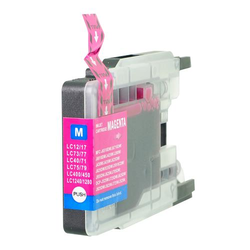 5 Star Value Remanufactured Inkjet Cartridge Page Life 1200pp HY Magenta [Brother LC1280M Alternative]