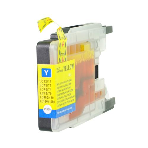 5 Star Value Remanufactured Inkjet Cartridge Page Life 1200 HY Yellow [Brother LC1280XLY Alternative]