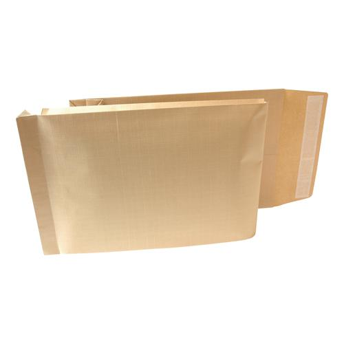 New Guardian Armour Envelopes 470x300mm Gusset 70mm Peel&Seal 130gsm Kraft Manilla Ref B28513 [Pack 100]