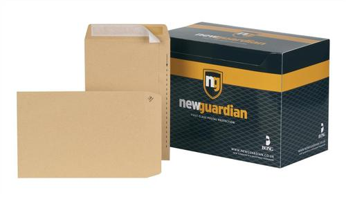 New Guardian Envelopes FSC Pocket Peel & Seal Heavyweight 130gsm 254x178mm Manilla Ref C26803 [Pack 250]